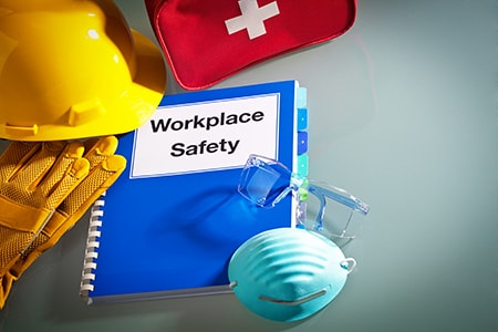 Workplace Safety Manual with Safety Equipment